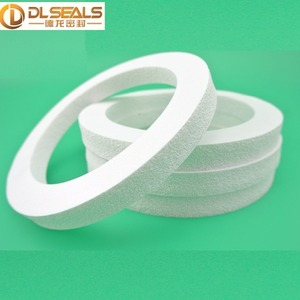 customized silicone rubber foam seal gasket/silicone foam gasket