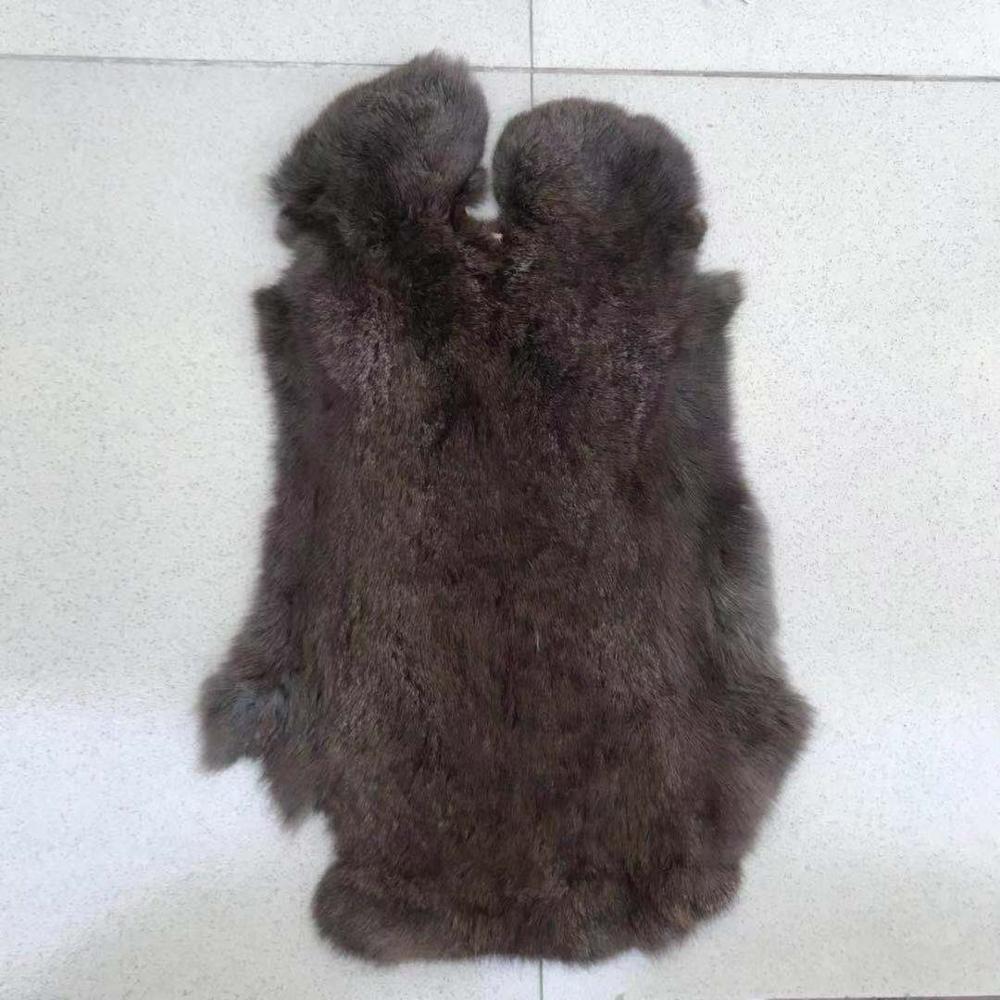 Wholesale Natural Color rex rabbit Fur Skin Pelt For Garment