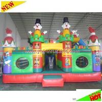 2014 hot sale fantasy adventure castle inflatable toy/giant inflatable games