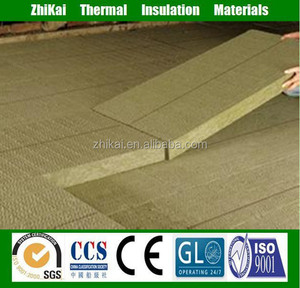 50mm thick 80kg/m3 rock wool fireproof insulation board