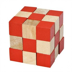 wooden Snake Cubic Blocks,magic secret box PY4082