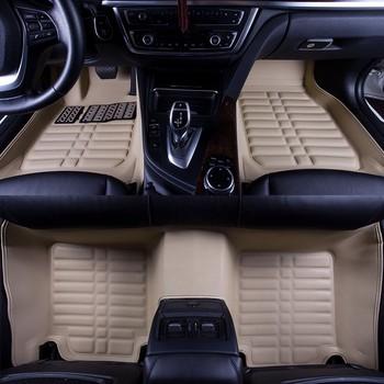5D Car Mats Double Layer Car Floor Mats For HYUNDAI Sonata Azera