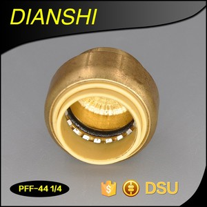 Bitetype Lead Free Brass Push Fit Fitting for pvc pipe