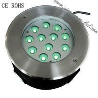 in ground led lights 12v 12X1W LED underground light