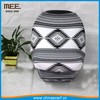 black and grey color newborn infant carrier car seat cover