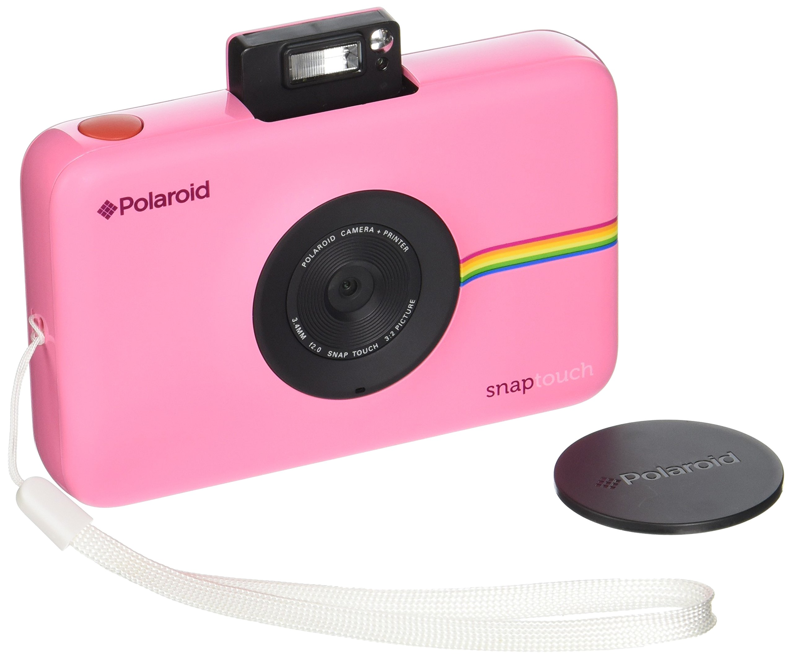 0403d7cfc2 Get Quotations · Polaroid Snap Touch Portable Instant Print Digital Camera  with LCD Touchscreen Display (Pink)