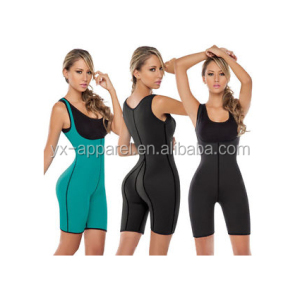 Neoprene women slimming body shaper vest ultra sweat waist trainer