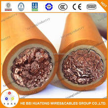 flexible rubber insulation welding cable Pure Copper Welding Cable CE certificate