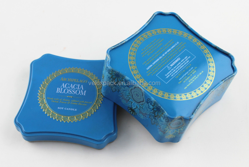 Inner Lid Airtight Tinplate Box Tea Metal Tin Box