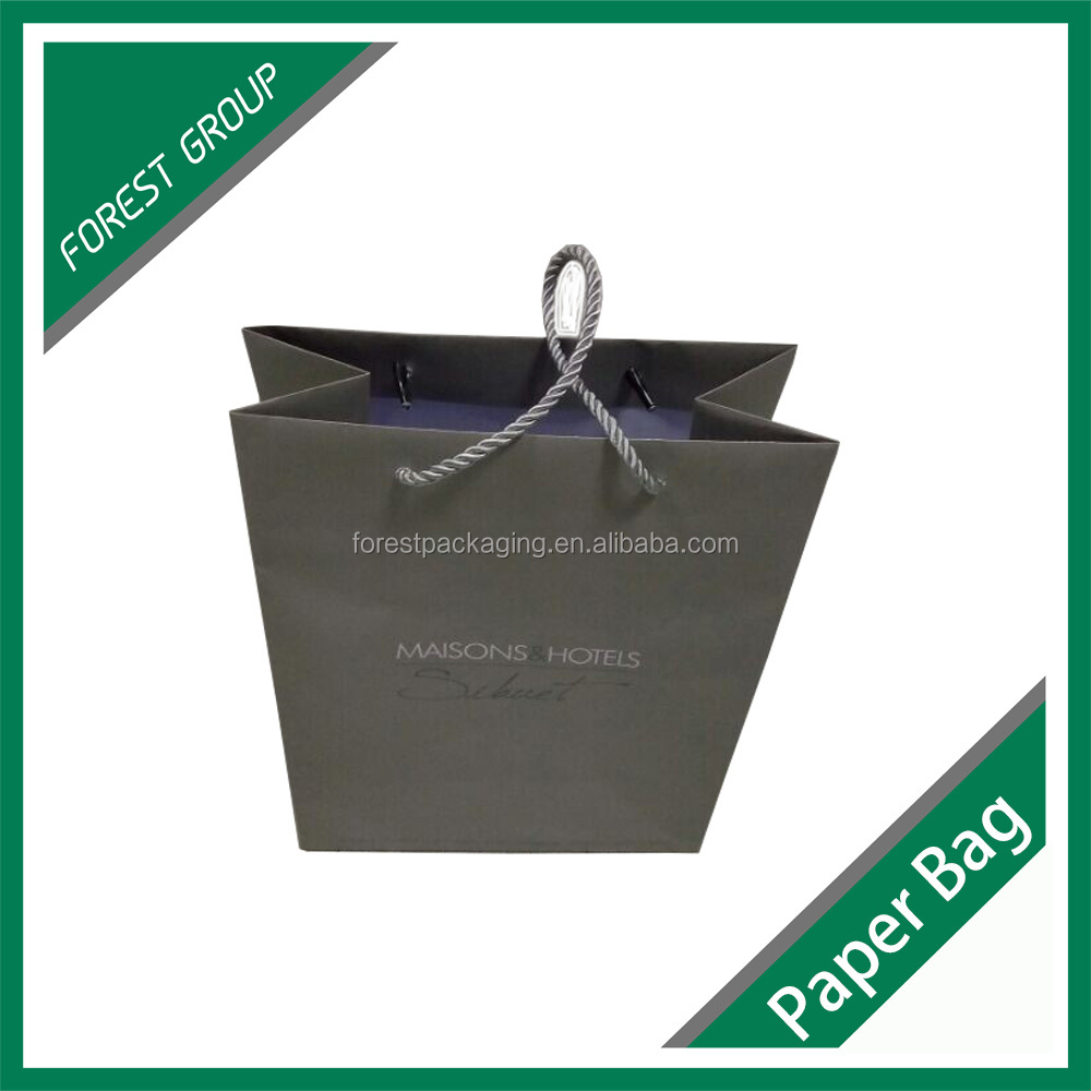 Recycled colorful printing gift paper bag for shopping