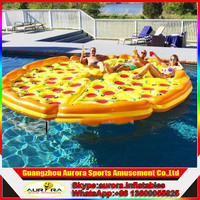 Buy Fun inflatable pool pizza raft for water toy pizza slice float ...