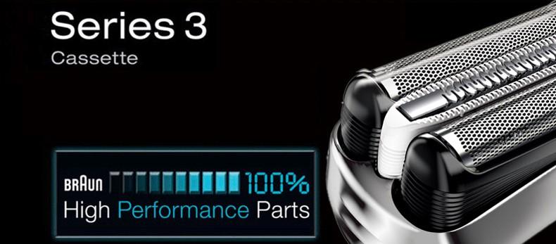 32 S Serie 3 Hoja Cabezal de la Afeitadora y Cutter repuestos con Microcomb  (320 330 340 350CC 360 370 390CC 380) befc621af451