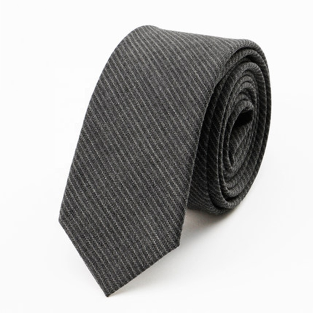 Wholesale Striped Handsome Wool Tie For Mens Neck Ties
