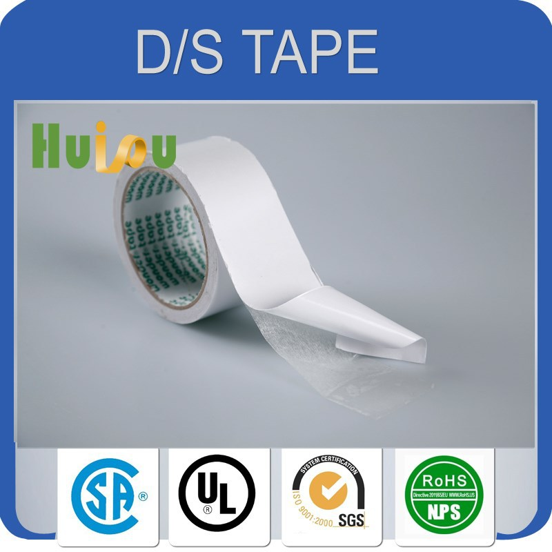 Double Sided Adhesive Side and tissue paper Material Computer tissue tape