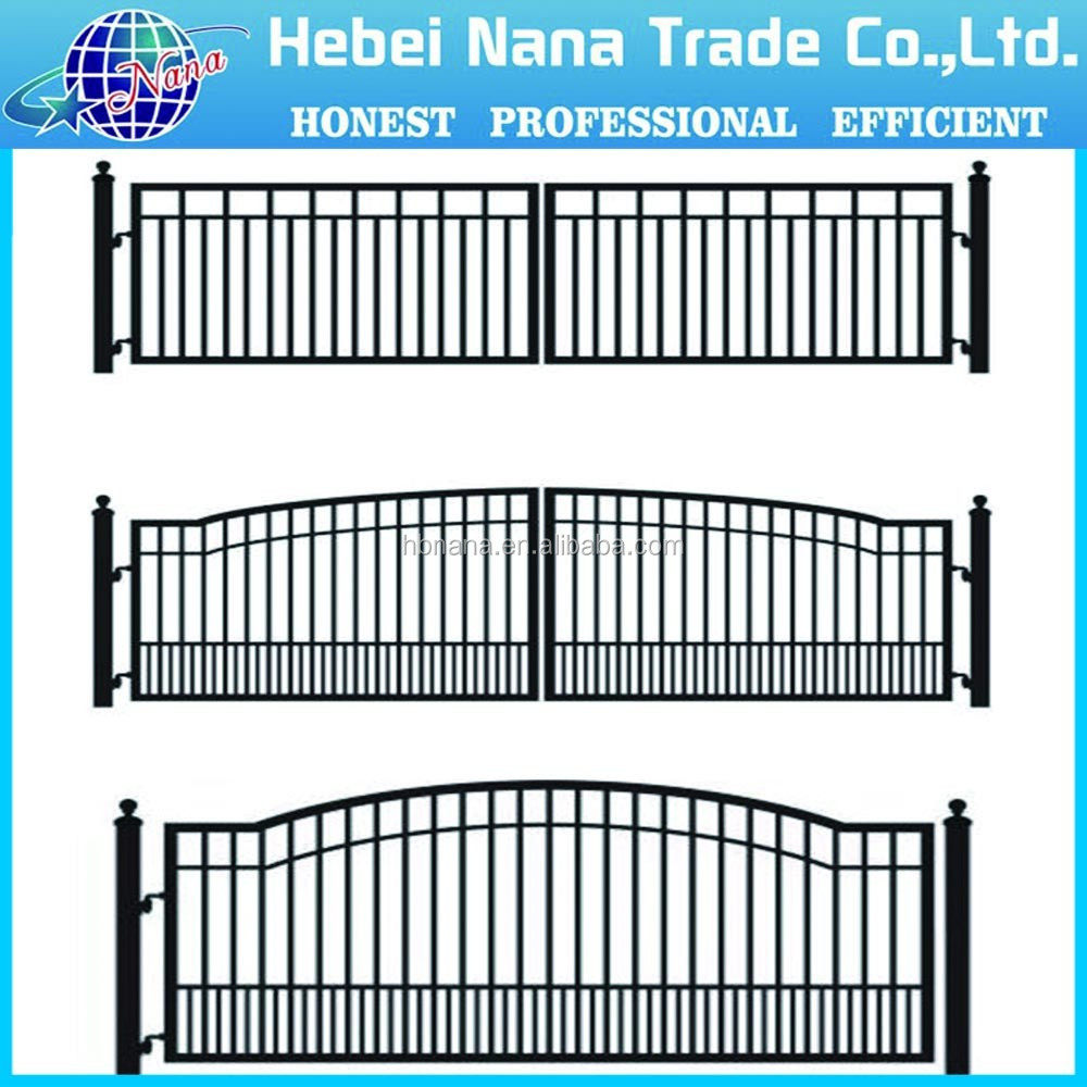 Sliding iron main gate design house gate designs trade - Sliding main gate design for home ...
