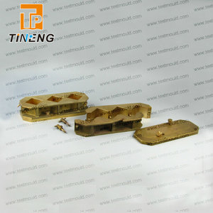 8 shape ductility testing parts brass mould ductility mould