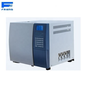 Alcohol content analyzer in blood gas chromatography instrument of gas  chromatograph