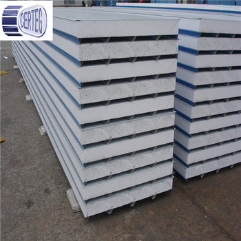 Metal Foam Core Panels/light Steel Color Corrugated Structural Insulated  Panel Thermal Insulation Eps Sandwich Panel - Buy Corrugated Structural