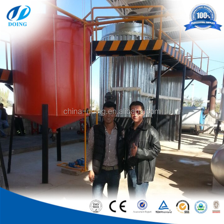 Made in China DOING GROUP Continuous Waste Oil Residue Distill Machine
