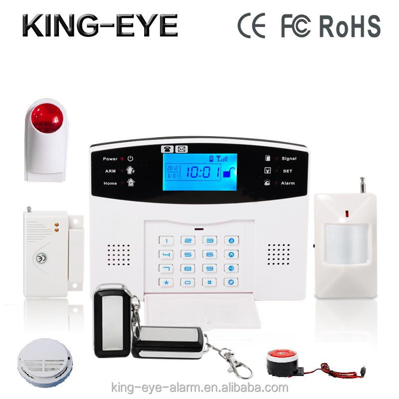 wireless gsm security alarm sms alert & gsm sms alarm device & gsm sms alarm receiver KI-GSM904