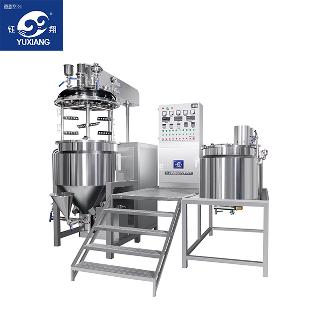High Shear Emulsifying Mixer Homogenizer For Cosmetic Cream Making Machine