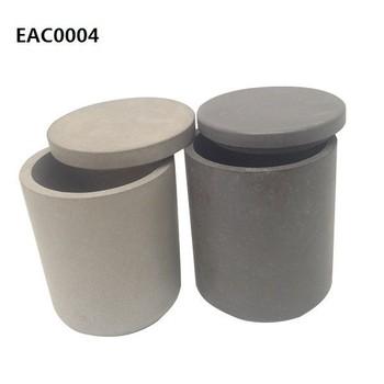 Concrete Or Cement Decor Custom Products Concrete Votive