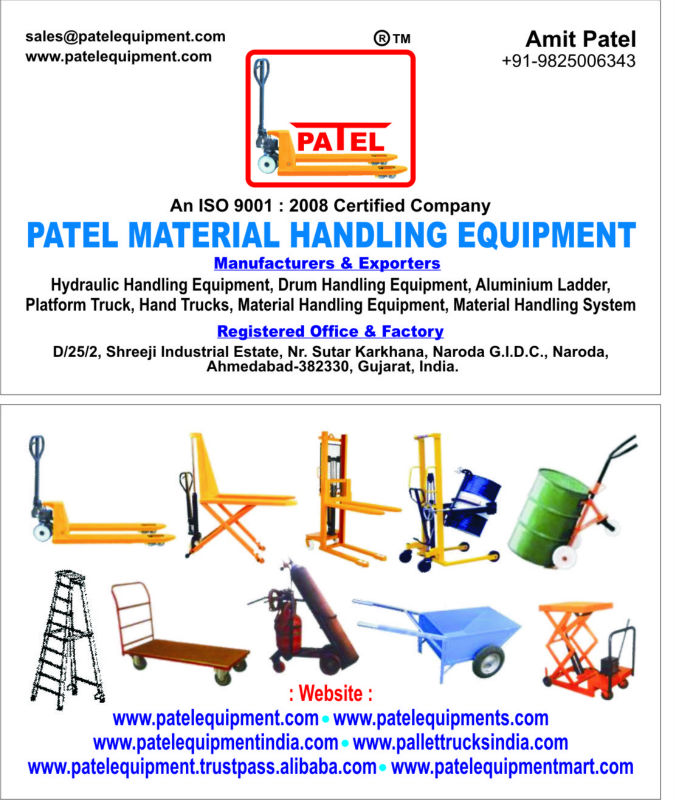 Patel Hydraulic Handling Equipment United Arab Emirates