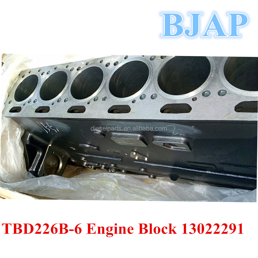 TBD226B-6 Engine Block 13022291 13027525 Engine Block