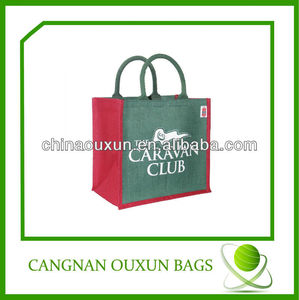 fashion low cost jute bags for bulk quantity