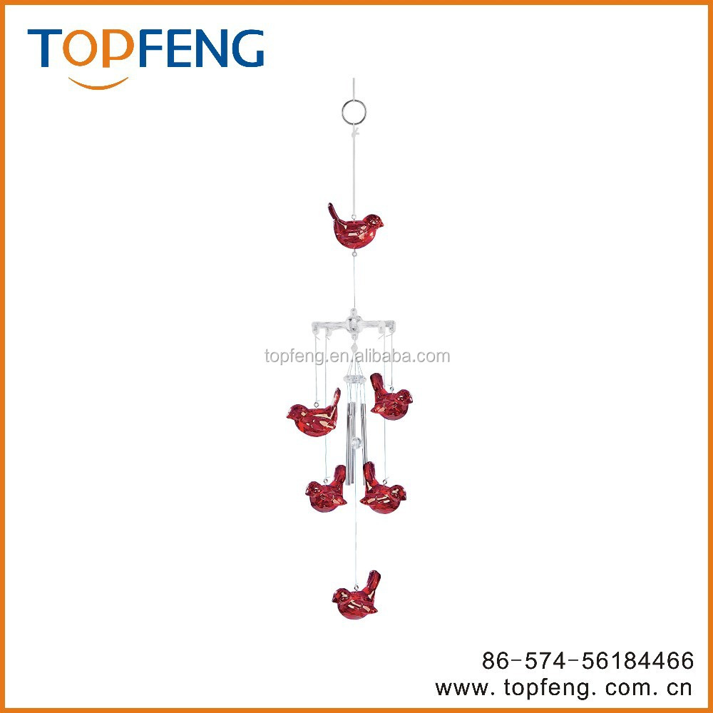 Cardinals Wind Chime