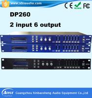 2 In 4 Out Dsp Audio Digital Audio Processor Digital Loudspeaker ...