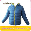 Unisex plain windbreaker waterproof breathable quilted ski jacket