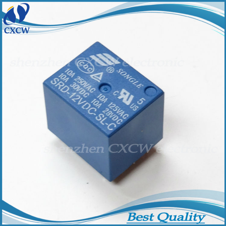 Electronic Component SMIH-24VDC-SL-C 24V 16A 250V 8pin songle relay