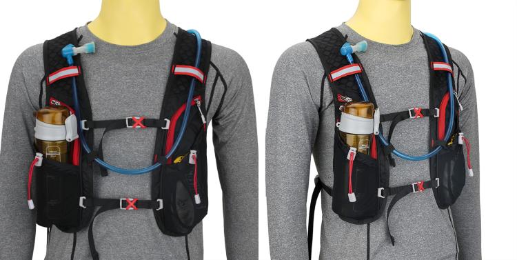 Pacote de hidratação de camelo de bicicleta impermeável personalizado leve caminhadas mochila saco de água de bexiga