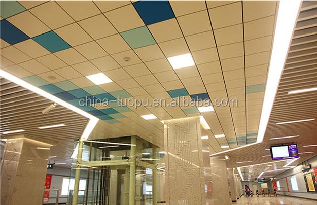Impermeabile di Accesso In Alluminio Sospeso 2x4 In Alluminio Soffitto Piastrelle Per La Banca Roof Top