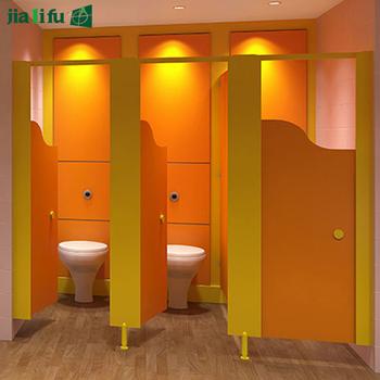 Kindergarten School Nursery Hpl Toilet Cubicles Partition