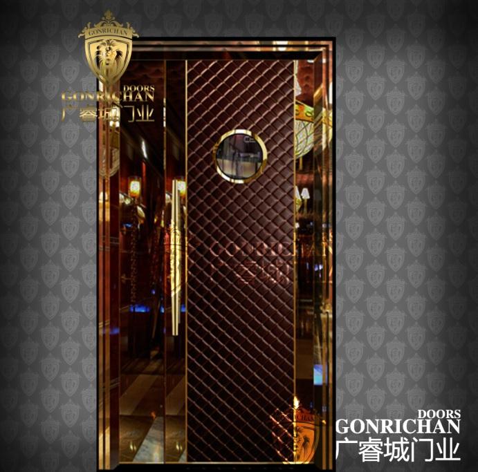 Earl series Beaut-3beautiful interior steelswing Karaokeroom door design