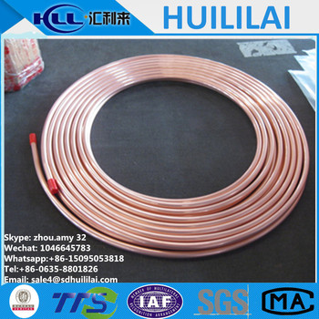 Water air conditioner copper pipe price per meter buy 6 for Copper pipe cost