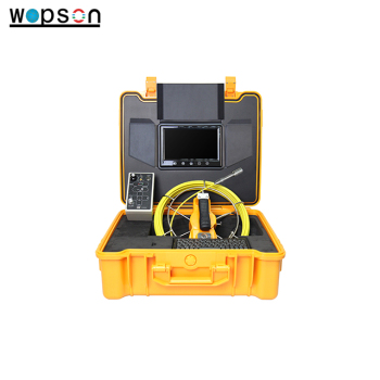 Well sewer pipe inspection camera for round pipe detection or blocked detection