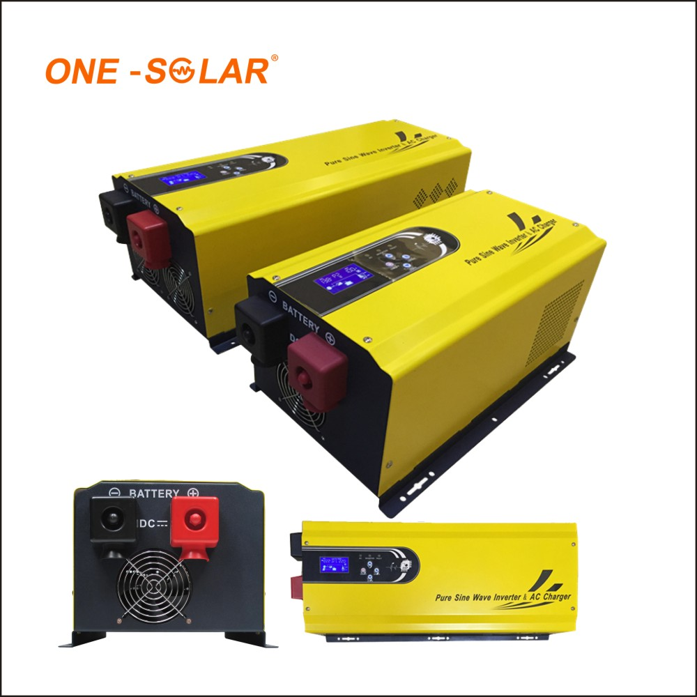 Portable off grid mini solar power inverter 300w 500w 1000w 2000w 3000w 4000w 5000w 6000w 7000w dc 12v ac 220v