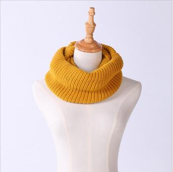 Women Winter Knit Infinity Scarf Fashion Circle Loop Scarves Thick Warm
