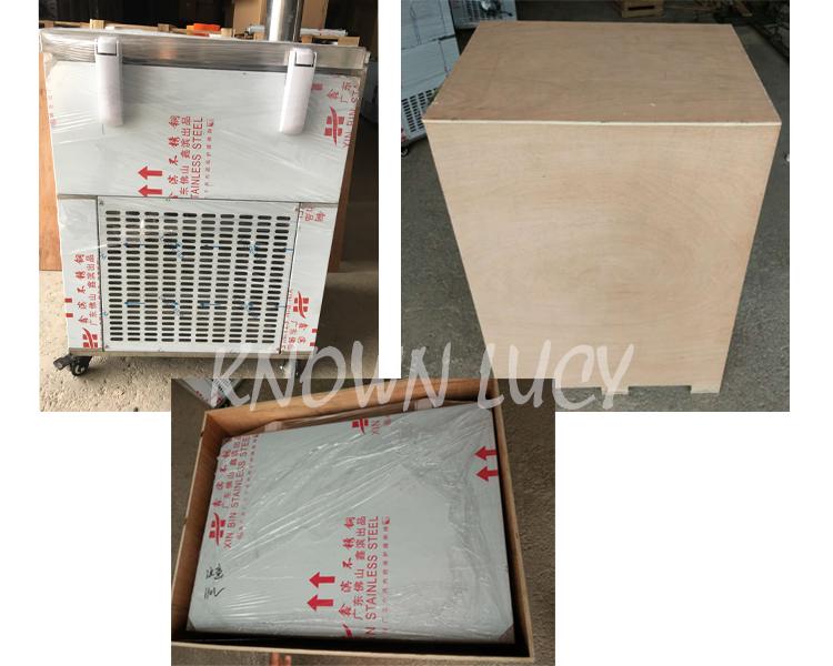 Бесплатная доставка 9 танки 1600 Вт непрерывной делать льда/ледяная глыба машина 3.jpg