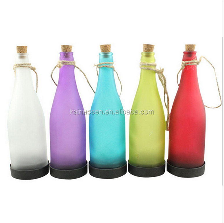 Solar Cork LED Bottle White Light For Bedroom Night Table Lamp Garden