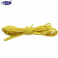 Colored Polyester OEM Round Elastic Cord 2mm