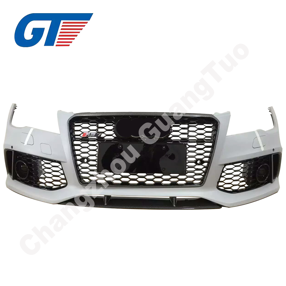 Aftermarket Facelift Rs7 Front Body Kits 2013 Bumper With Grille - Buy  Front Body Kits,Rs7 Front Body Kits,Rs7 Front Body Kits With Grille Product  on