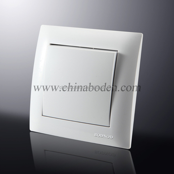 Best Selling Home Electrical Morden One Way One Gang Switch ...