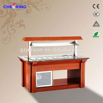 Salad Fridge For Restaurant Display Case Bar Equipment
