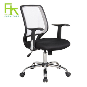 Ergonomic Butterfly Mechanism Mesh Office Chair Nylon Base Chair For Office