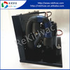 Reliable & Energy-Saving 48VDC Vertical Air Cooled Condensing Unit with 2 Fans for Mini Freezer