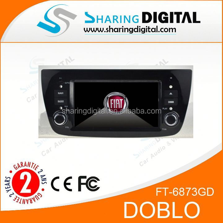 Auto radio navigation car dvd player with GPS For FIAT DOBLO Auto Stereo car dvd player